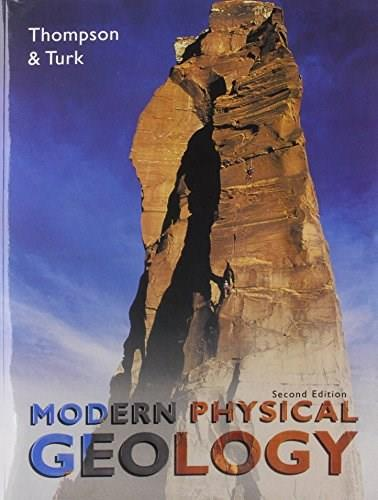 Modern Physical Geology, by Thompson, 2nd Media Edition 2 PKG 9780534422844