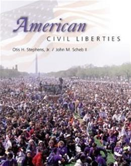 American Civil Liberties, by Stephens 9780534549541