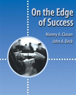On the Edge of Success, by Clason 9780534569730