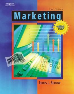 Marketing, by Burrow, 2nd AP Edition 9780538440967
