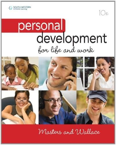 Personal Development for Life and Work 10 9780538450232