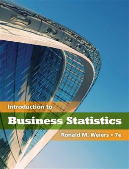 Introduction to Business Statistics (with Premium Website Printed Access Card) (Available Titles CengageNOW) 7 PKG 9780538452199