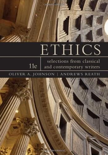 Ethics: Selections from Classical and Contemporary Writers 11 9780538452823