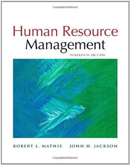 Human Resource Management, 13th Edition 9780538453158
