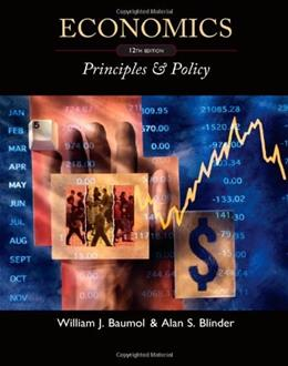 Economics: Principles and Policy 12 9780538453677