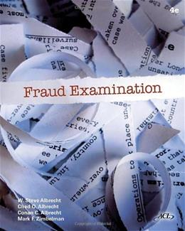 Fraud Examination 4 9780538470841