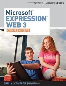 Microsoft Expression Web 3, by Shelly, Comprehensive 9780538474443