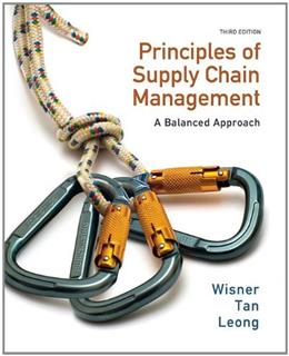 Principles of Supply Chain Management: A Balanced Approach (with Premium Web Site Printed Access Card) 3 PKG 9780538475488