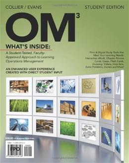 OM, by Collier, 3rd Edition 3 PKG 9780538479134