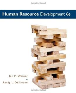Human Resource Development 6 9780538480994