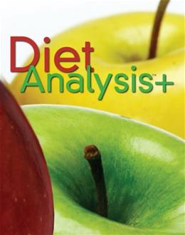 Diet Analysis +, by Wadsworth, 10th Edition, ACCESS CARD ONLY 10 PKG 9780538495080