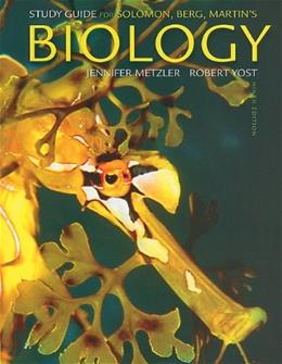 Biology, by Solomon, 9th Edition, Study Guide 9780538731676