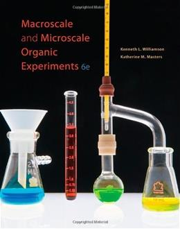 Macroscale and Microscale Organic Experiments (Available Titles CourseMate) 6 9780538733335