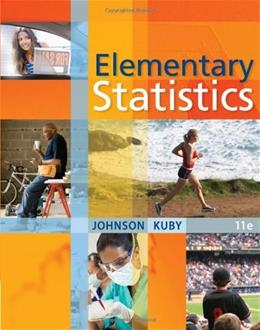 Elementary Statistics (Available Titles Aplia) 11 9780538733502