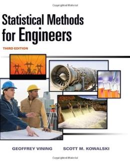 Statistical Methods for Engineers 3 9780538735186