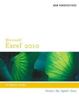 New Perspectives on Microsoft Office Excel 2010, by Parsons, Introductory 9780538742399