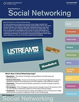 Best Practices in Social Networking CourseNotes 1 9780538744287