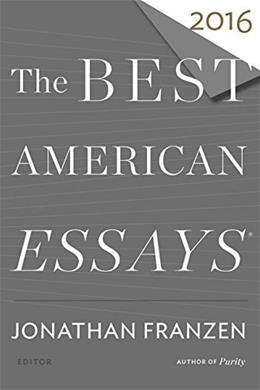 The Best American Essays 2016 9780544812109