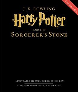 Harry Potter and the Sorcerers Stone, by Rowling, The Illustrated Edition 9780545790352