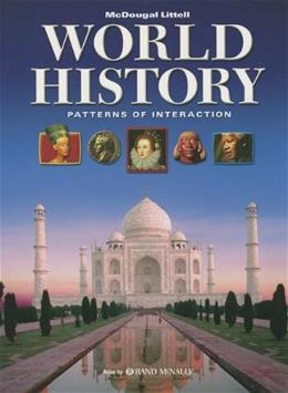 World History: Patterns of Interaction, by Beck 9780547034751
