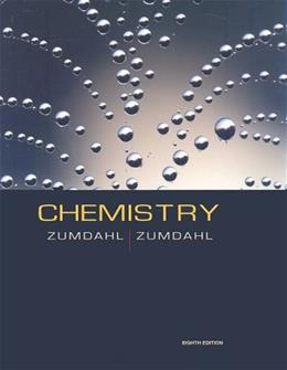 Chemistry, by Zumdahl, 8th APEdition 9780547168173