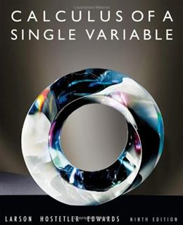 Calculus of a Single Variable 9 9780547209982