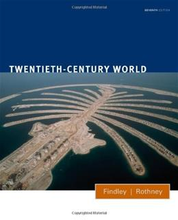 20th Century World, by Findley, 7th Edition 9780547218502