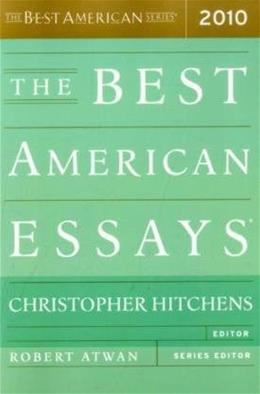 Best American Essays 2010, by Hitchens 9780547394510