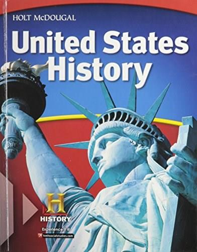 United States History, by Deverell, Grades 6-8 9780547484280