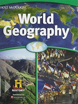 World Geography, by Salter, Grades 6-8 9780547484792