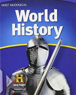 World History, by Salter 9780547485805