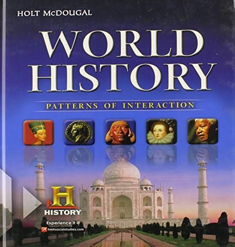 World History: Patterns of Interaction, Student Edition Survey 1 9780547491127