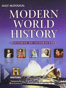 Modern World History Patterns of Interaction, by Krieger 9780547491141