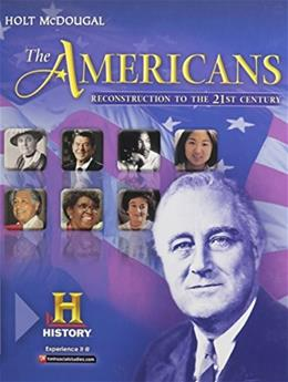 Americans: Student Edition Reconstruction to the 21st Century, by Holt McDougal 9780547491172