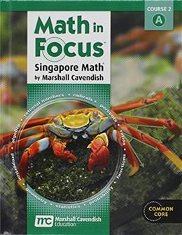 Math in Focus: Singapore Math, by Cavendish, Grade 7 9780547560076