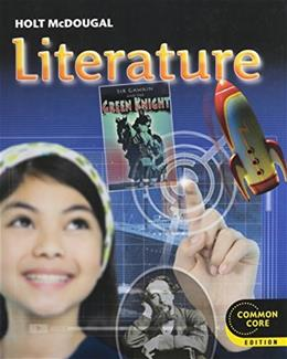 Literature, by Holt McDougal , Grade 7 9780547618371