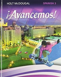 ¡Avancemos!: Student Edition Level 3 2013 (Spanish Edition) 9780547871929