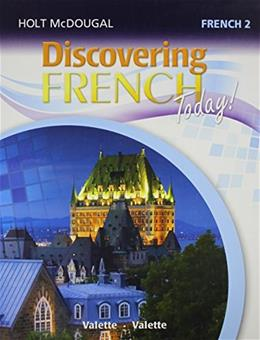 Discovering French Today, by Valette, Level 2 9780547871974