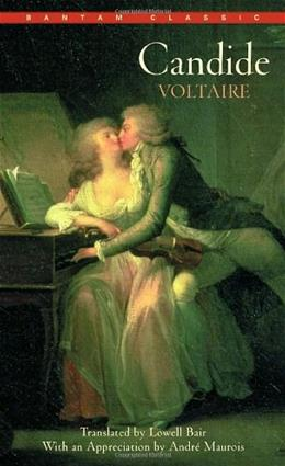 Candide, by Voltaire, Grades 9-12 9780553211665