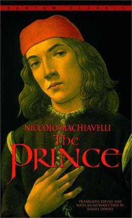 Prince, by Machiavelli 9780553212785