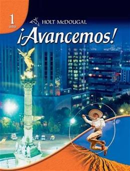 Avancemos!, by Holt McDougal, Level 1, Grades 6-12 9780554025315