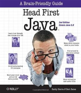 Head First Java, 2nd Edition 9780596009205