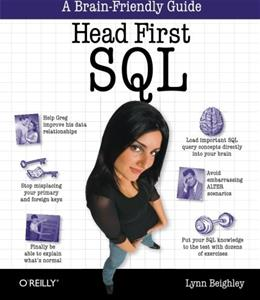 Head 1st SQL, by Beighley 9780596526849