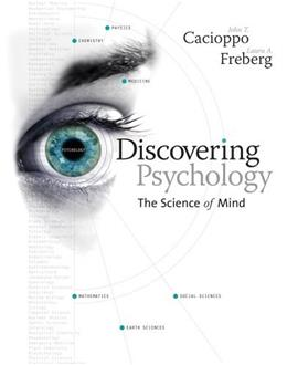 Discovering Psychology: The Science of Mind 1 9780618185504