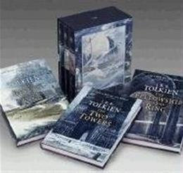 Lord of the Rings, by Tolkien, 3 BOOK SET PKG 9780618260584