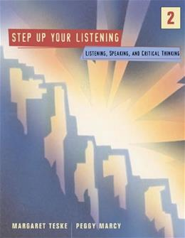 Step Up 2: Listening, Speaking, and Critical Thinking 1 9780618353064