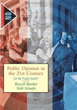 Public Opinion in the 21st Century: Let the People Speak?, by Brooker 9780618376209