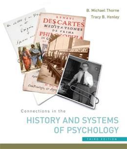 Connections in the History and Systems of Psychology 3 9780618415120