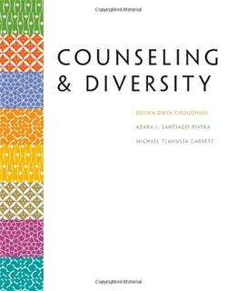 Counselling and Diversity, by Choudhuri 9780618470365