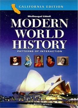 Modern World History: Patterns of Interaction, California Edition Student 9780618557158